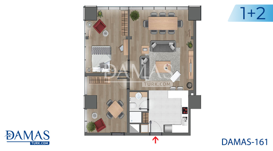 Damas Project D-161 in Istanbul - Floor plan picture 03