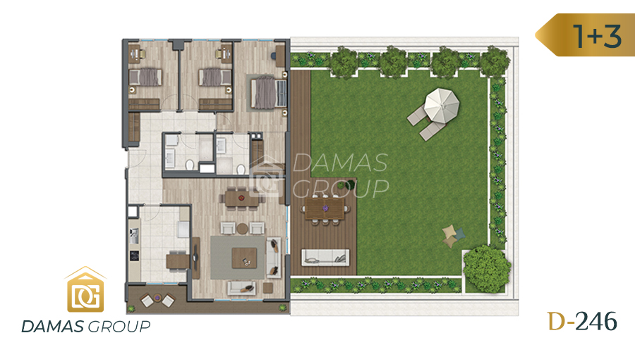 Damas Project D-246 in Istanbul - Floor Plan 04