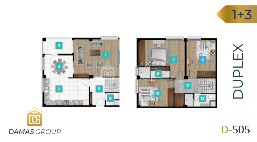 Damas Project D-061 in kocaIi - Floor Plan 05