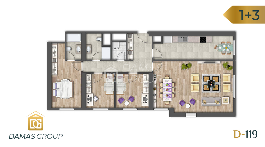 Damas Project D-119 in Istanbul - Floor Plan 05