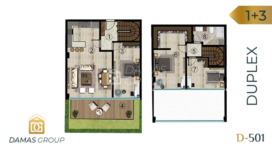 Damas Project D-501 in kocali - Floor Plan 06