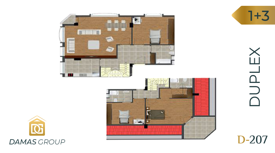 Damas Project D-207 in Istanbul - Floor Plan 04