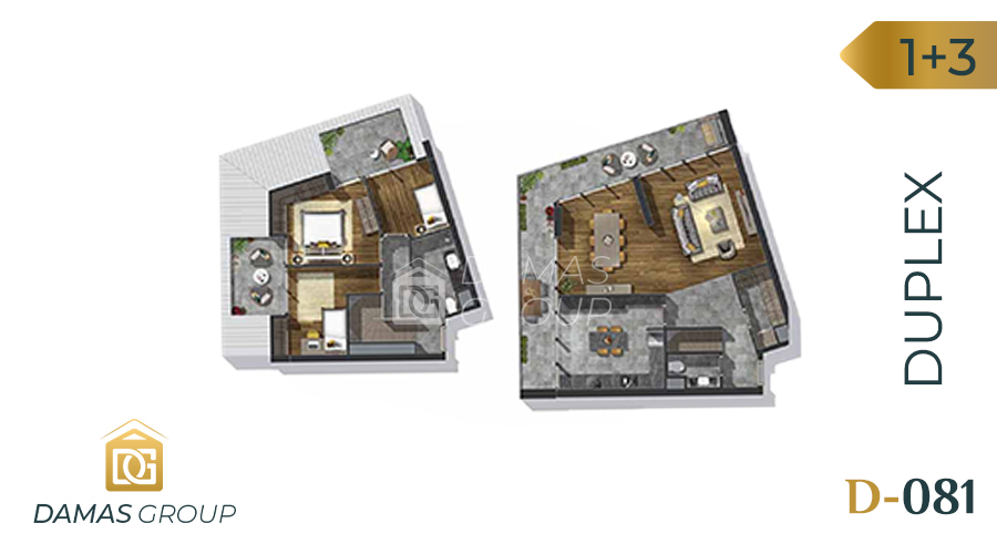 Damas Project D-081 in Istanbul - Floor Plan 04