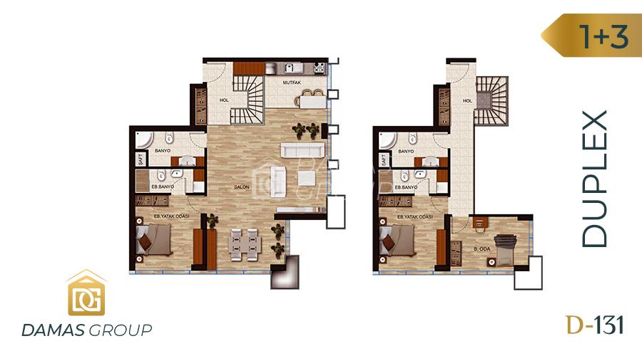 Damas Project D-131 in Istanbul - Floor Plan 04