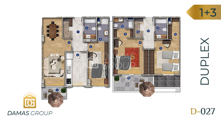 Damas Project D-027 in Istanbul - Floor Plan 06