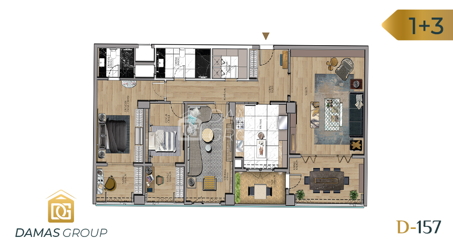 Damas Project D-157 in Istanbul - Floor Plan 04