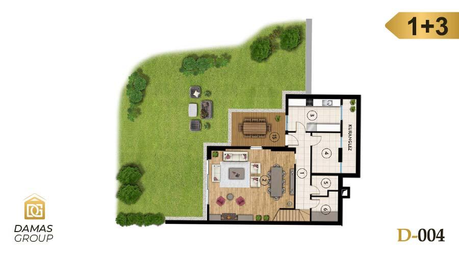 Damas Project D-004 in Istanbul - Floor Plan 02