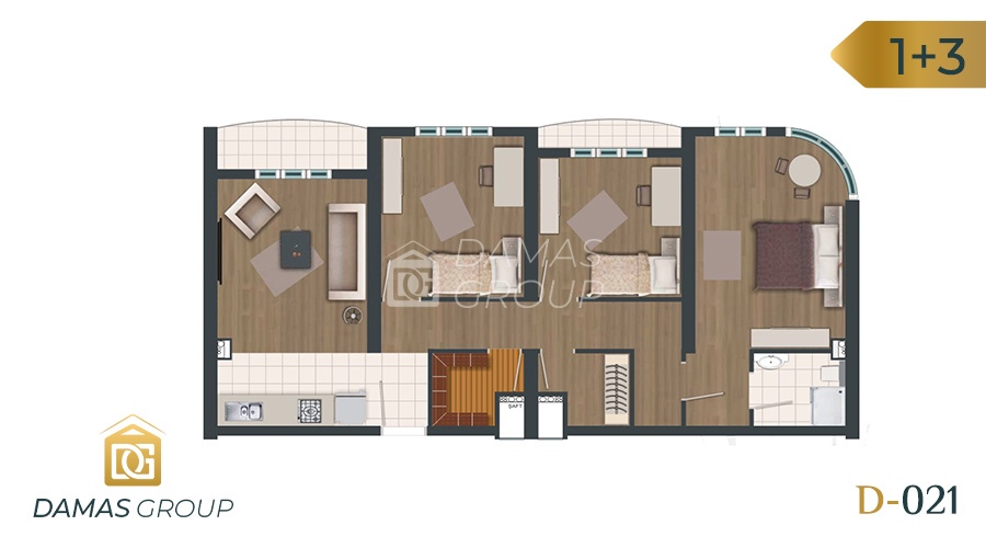 Damas Project D-021 in Istanbul - Floor Plan 05