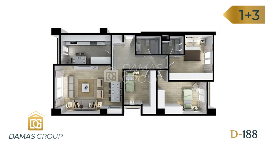 Damas Project D-188 in Istanbul - Floor Plan 05