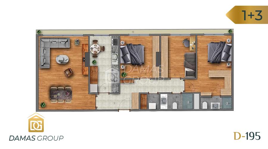 Damas Project D-195 in Istanbul - Floor Plan 03