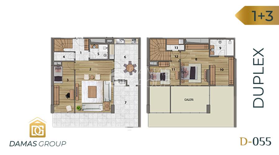Damas Project D-055 in Istanbul - Floor Plan 05
