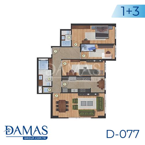 مجمع داماس 077 في اسطنبول  - صورة مخطط 02