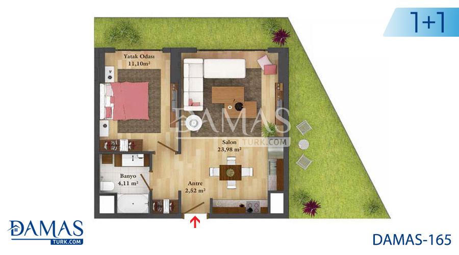 مجمع مجموعة داماس 165 في اسطنبول - صورة مخطط 03
