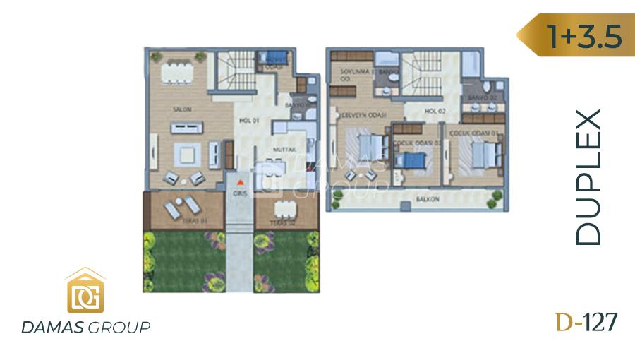 Damas Project D-127 in Istanbul - Floor Plan 03