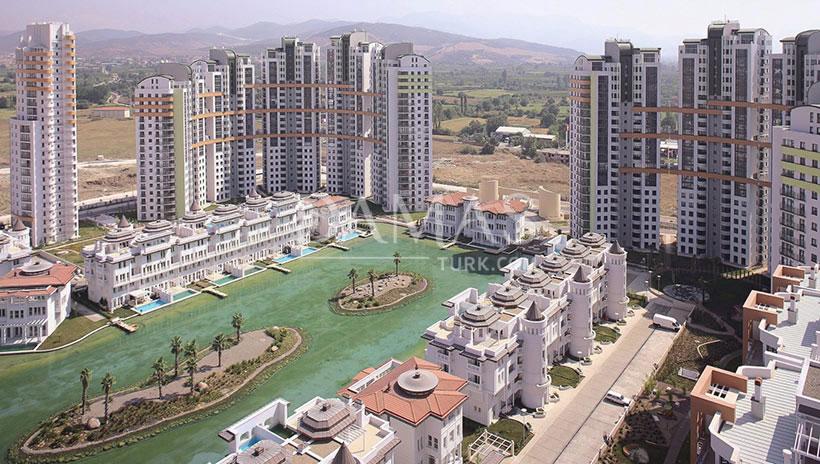منازل للبيع في بورصة - مجمع مجموعة داماس 206 في بورصة - صورة خارجية 03
