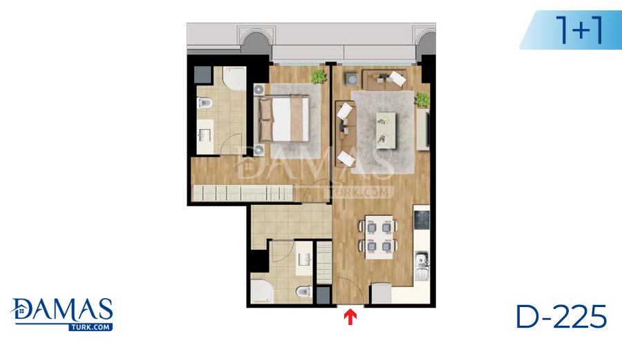 Damas Project D-225 in Istanbul - Floor plan picture  03