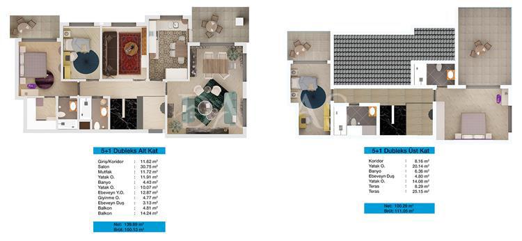 مجمع مجموعة داماس 204 في بورصة - صورة المخطط 03