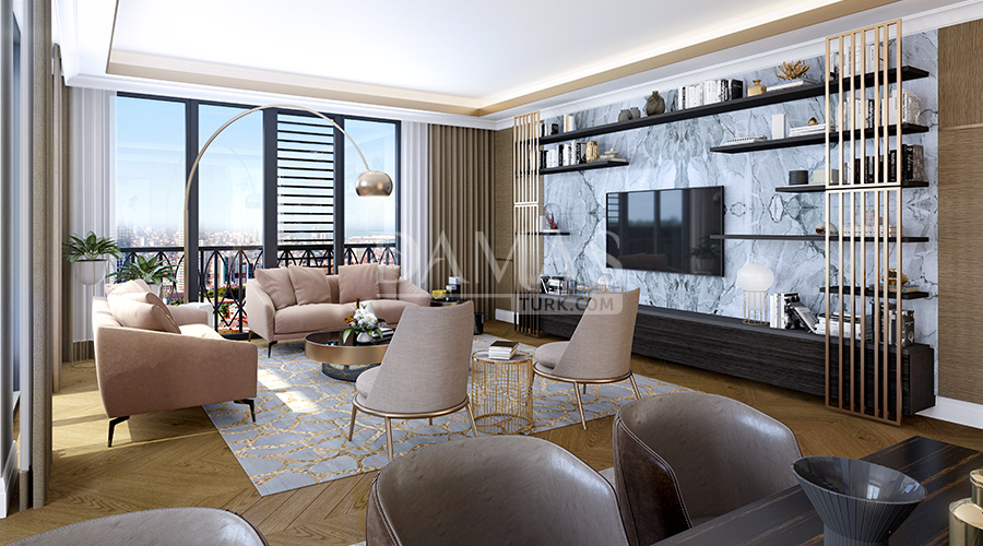 Damas Project D-281 in Istanbul - interior picture 03