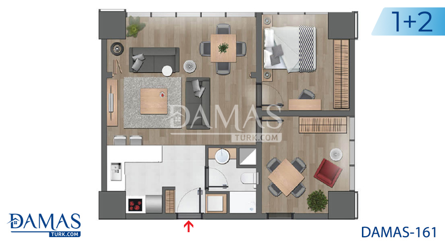 Damas Project D-161 in Istanbul - Floor plan picture 04