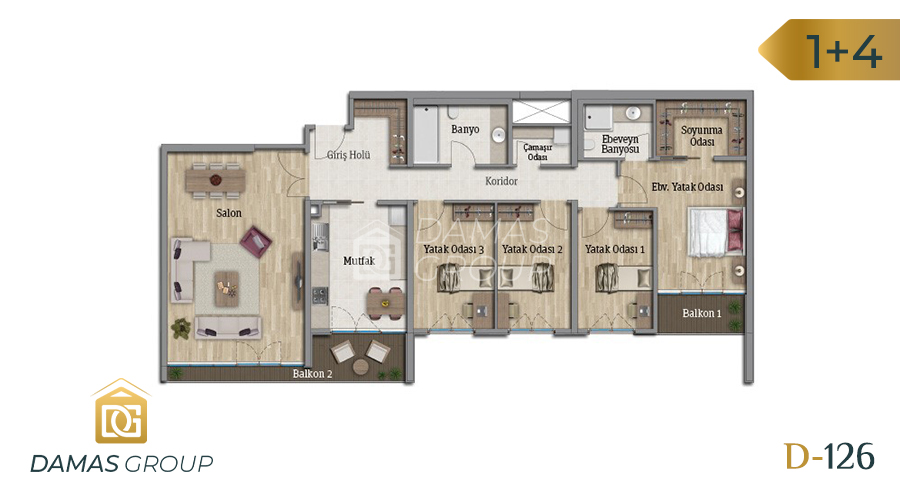 Damas Project D-126 in Istanbul - Floor Plan 05