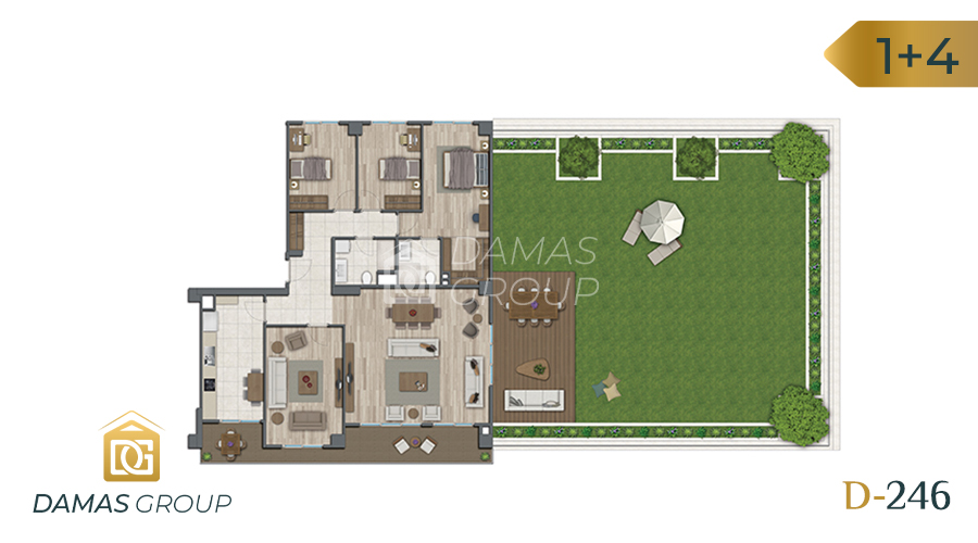 Damas Project D-246 in Istanbul - Floor Plan 06