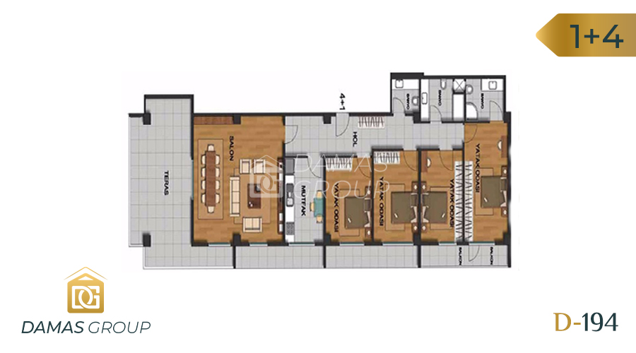 Damas Project D-194 in Istanbul - Floor Plan 04