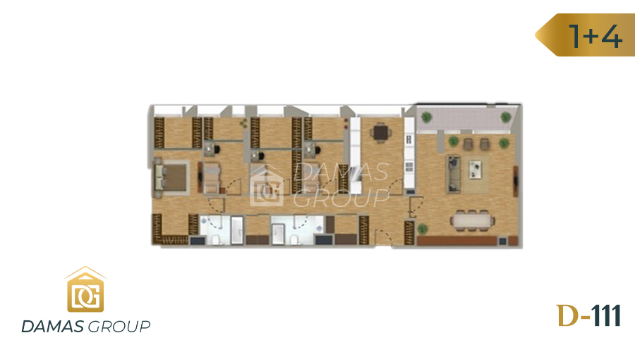 Damas Project D-111 in Istanbul - Floor Plan 05