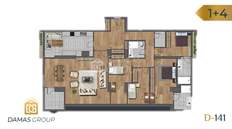 Damas Project D-141 in Istanbul - Floor Plan 04