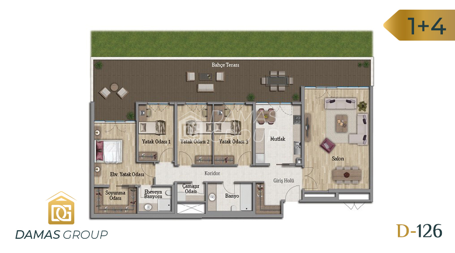 Damas Project D-126 in Istanbul - Floor Plan 04