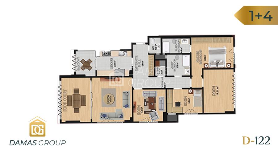Damas Project D-122 in Istanbul - Floor Plan 05