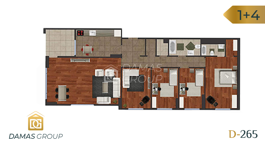 Damas Project D-265 in Istanbul - Floor Plan 04
