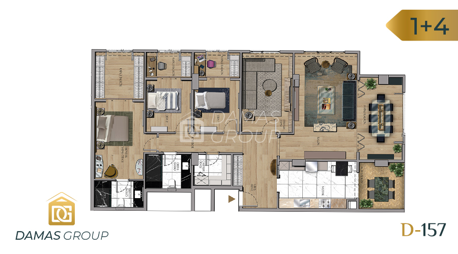Damas Project D-157 in Istanbul - Floor Plan 05