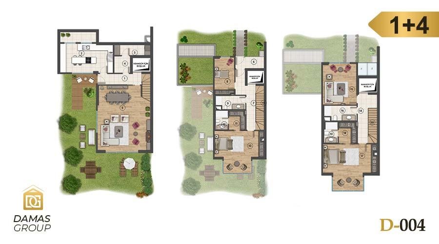 Damas Project D-004 in Istanbul - Floor Plan 03