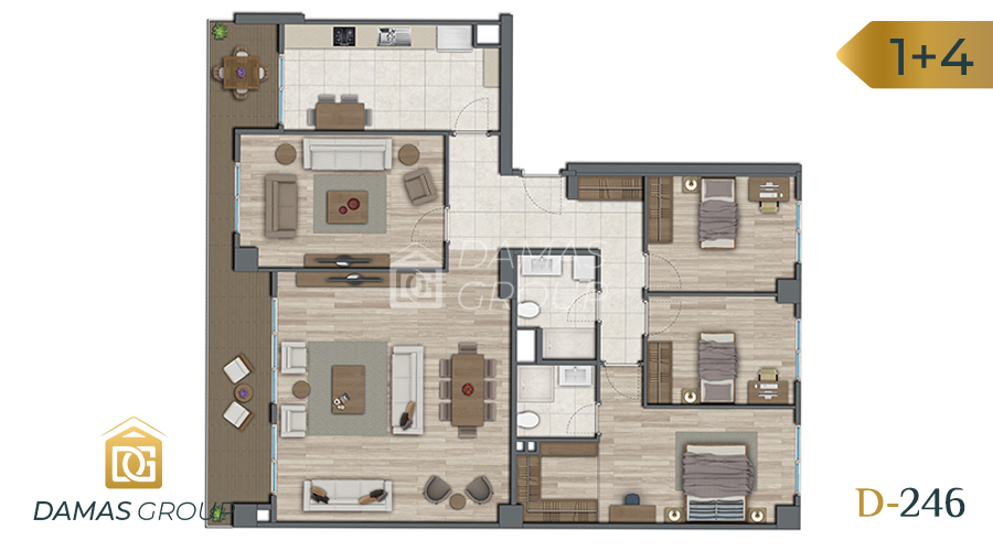 Damas Project D-246 in Istanbul - Floor Plan 05