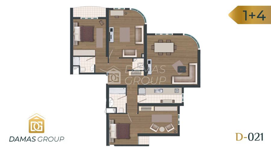 Damas Project D-021 in Istanbul - Floor Plan 06