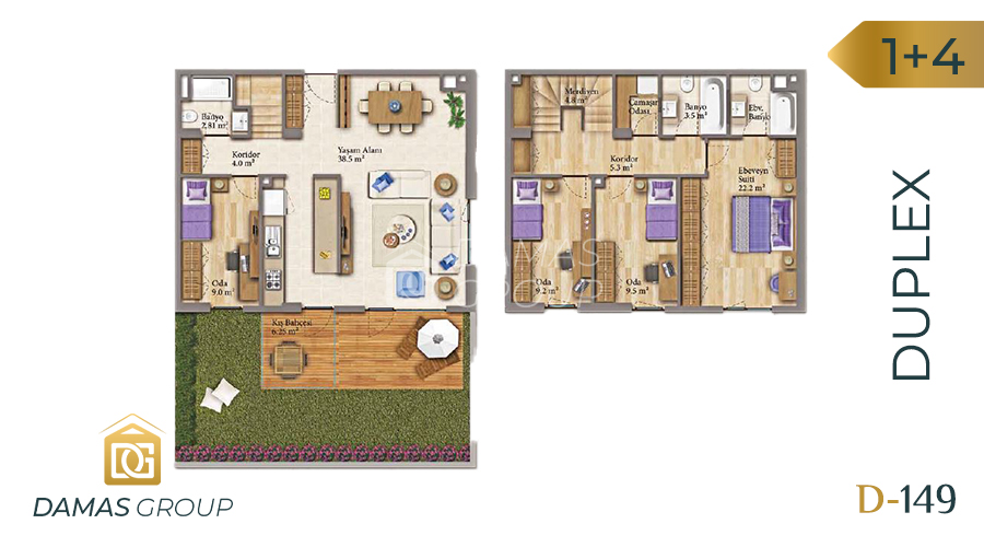 Damas Project D-149 in Istanbul - Floor Plan 04