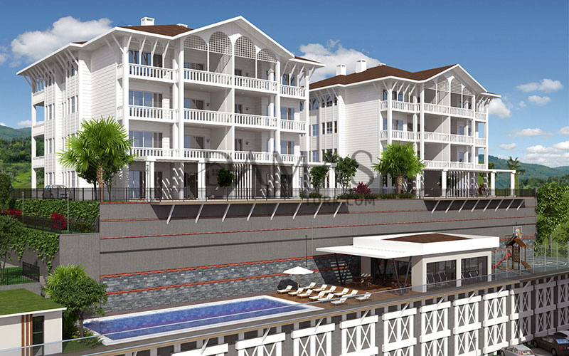 apartments for sale bursa - Damas 202 Project in bursa - exterior picture 04