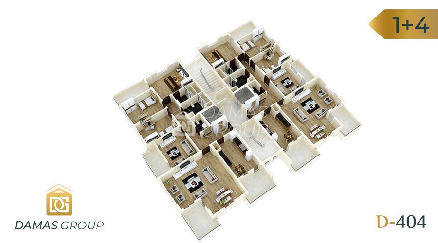 مجمع داماس 404 في طرابزون  - صورة مخطط 02