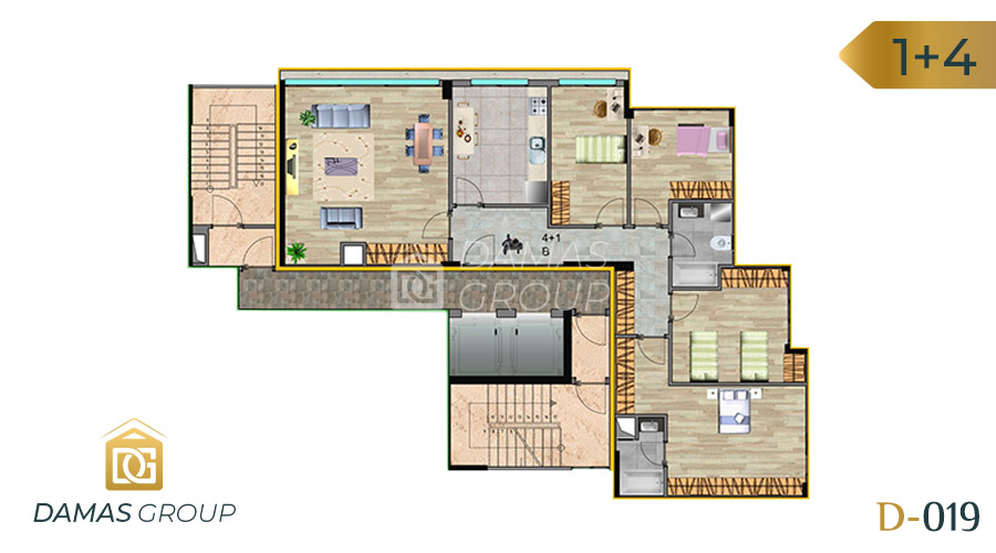 Damas Project D-019 in Istanbul - Floor Plan 05