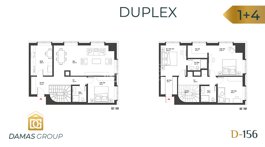 Damas Project D-156 in Istanbul - Floor Plan 05