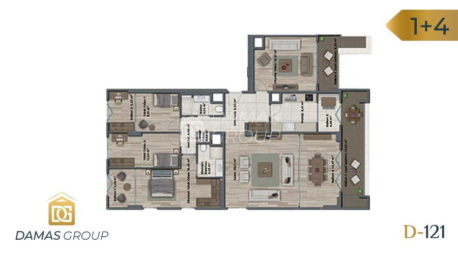 Damas Project D-121 in Istanbul - Floor Plan 05