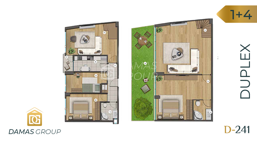 Damas Project D-241 in Istanbul - Floor Plan 04