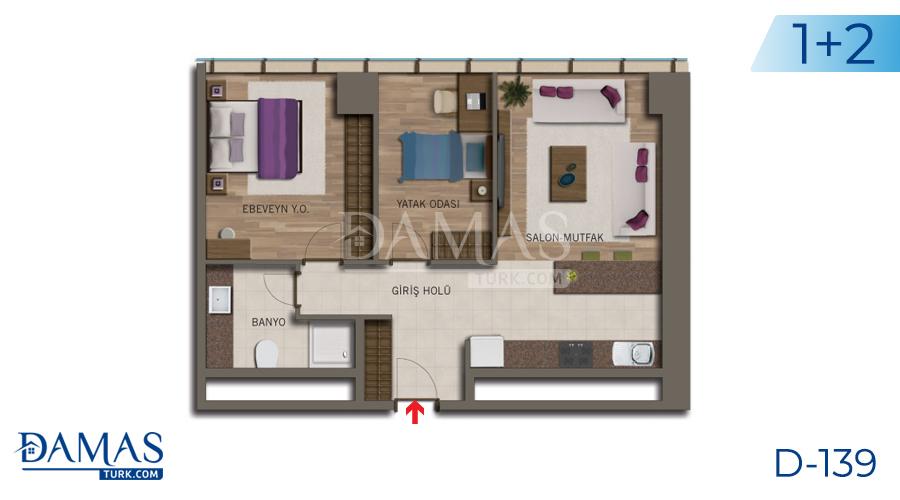 مجمع مجموعة داماس 138 في اسطنبول - صورة مخطط 04