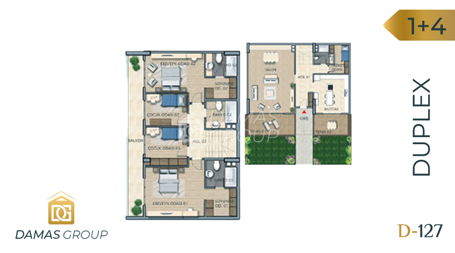 Damas Project D-127 in Istanbul - Floor Plan 05