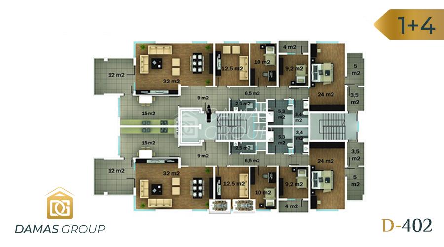 مجمع داماس 402 في طرابزون  - صورة مخطط 02