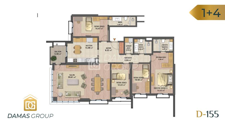 Damas Project D-155 in Istanbul - Floor Plan 05