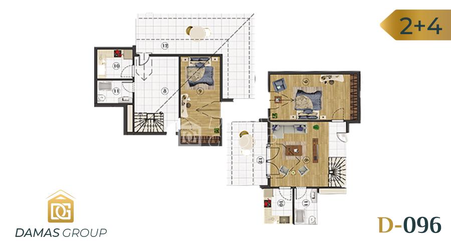 Damas Project D-096 in Istanbul - floor plan  01