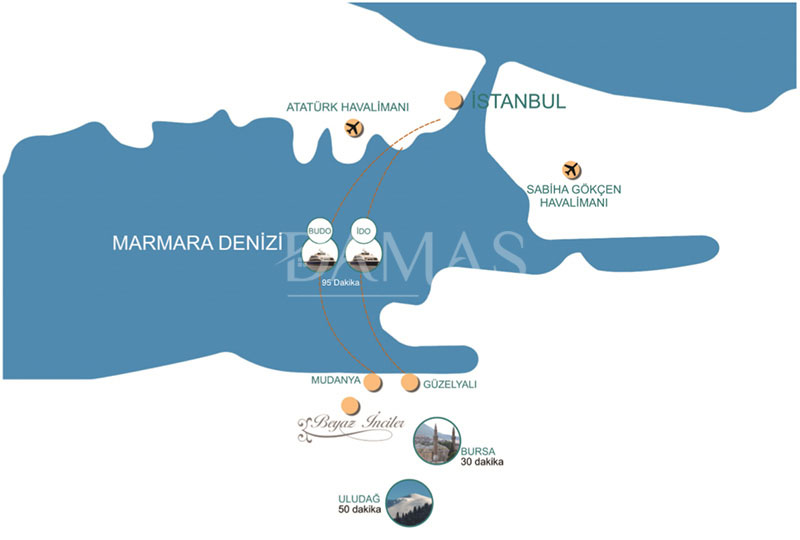 مجمع مجموعة داماس 202 في بورصة - صورة المخطط 04