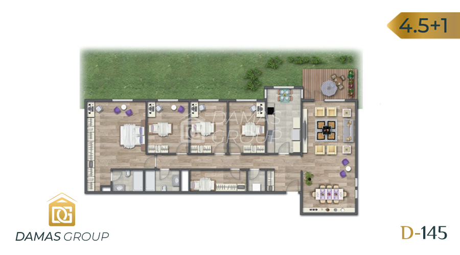 Damas Project D-145 in Istanbul - Floor Plan 05