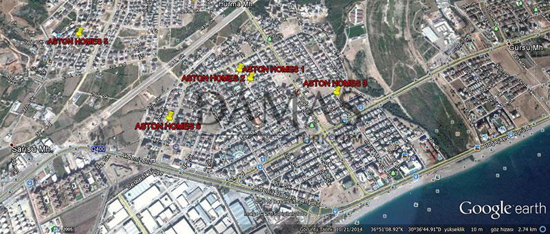 مجمع مجموعة داماس 604 في انطاليا - صورة المخطط 04